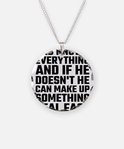 Dad Knows Everything Necklace