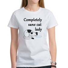 Completely Sane Cat Lady T-Shirt