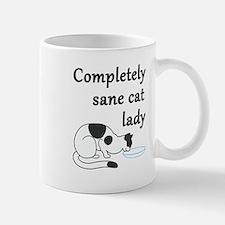 Completely Sane Cat Lady Mugs