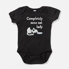 Completely Sane Cat Lady Baby Bodysuit