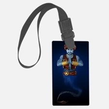 Magic Lamp Genie Luggage Tag