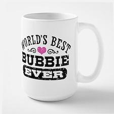 World's Best Bubbie Ever Large Mug
