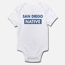 SAN DIEGO native Infant Bodysuit