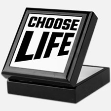 Choose Life Keepsake Box