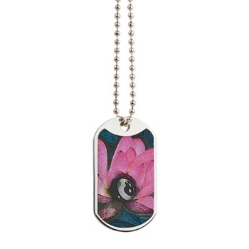Pretty In Pink 8 Ball Dog Tags