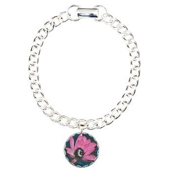 Pretty In Pink 8 Ball Bracelet