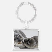 Unique Seal Landscape Keychain