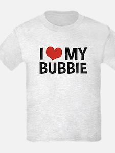 I Love My Bubbie T-Shirt