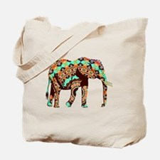 Cute Elephant pattern Tote Bag