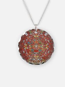 Mayan Calendar . Necklace