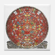 Mayan Calendar . Tile Coaster
