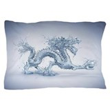 Blue dragon Pillow Cases