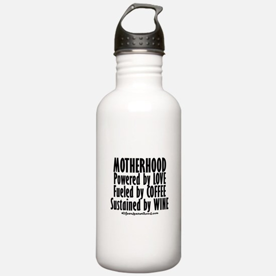 Motherhood Quote Water Bottle