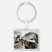 Chinese Great Wall Landscape Keychain