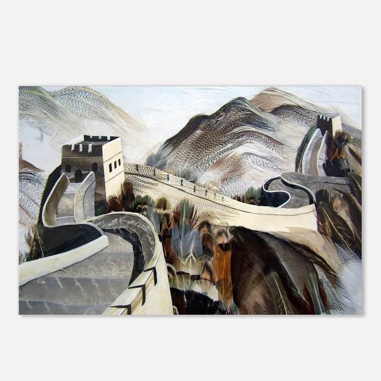 Chinese Great Wall Postcards (Package of 8)