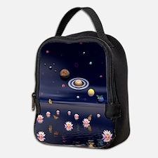 Lotus Universe Neoprene Lunch Bag