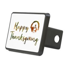 happy thanksgiving bokeh Hitch Cover