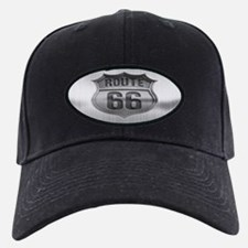 Route 66 Metal Baseball Hat