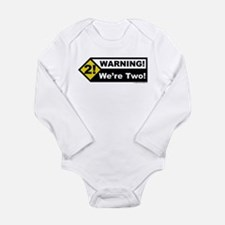 Cute Toddler boy 2nd birthday Long Sleeve Infant Bodysuit