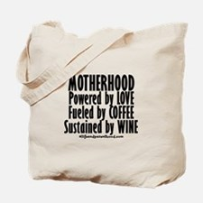 Motherhood Quote Tote Bag
