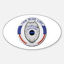 Family Thin Blue Line Bumper Stickers
