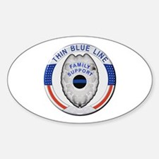 Family Thin Blue Line Decal