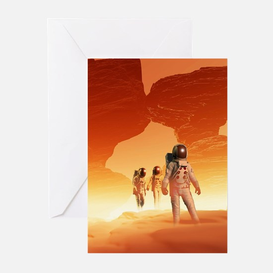 Mars Explorers Greeting Cards (Pk of 10)