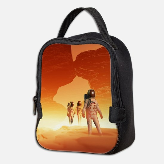 Mars Explorers Neoprene Lunch Bag