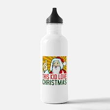 This Kid Love Christma Water Bottle