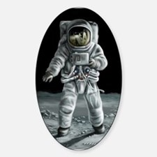 Moonwalker Astronaut Decal