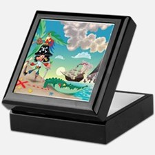 Pirate Cartoon Keepsake Box