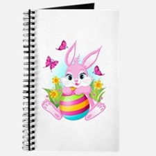 Pink Easter Bunny Journal