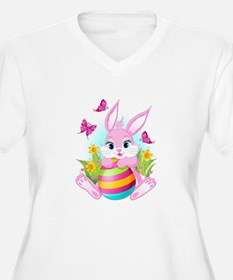 Pink Easter Bunny T-Shirt
