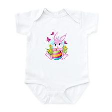 Pink Easter Bunny Onesie