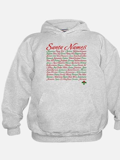 Santa Other Names Hoodie