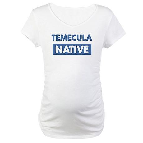 TEMECULA native Maternity T-Shirt