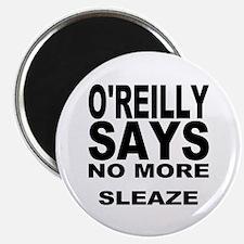 "NO MORE SLEAZE 2.25"" Magnet (100 pack)"