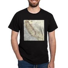 Unique City maps T-Shirt