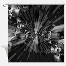 Charcoal Grey Shower Curtains Charcoal Grey Fabric Shower Curtain Liner
