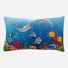 Tropical Underwater World Pillow Case
