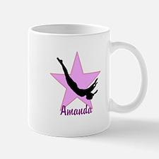 Pink Trampoline Star Mugs