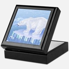 Polar Bear Keepsake Box