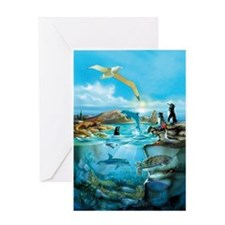 Galapagos Animals Greeting Card