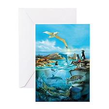 Galapagos Animals Greeting Cards