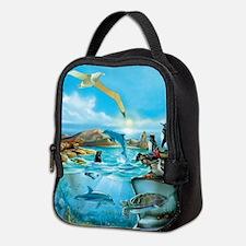 Galapagos Animals Neoprene Lunch Bag