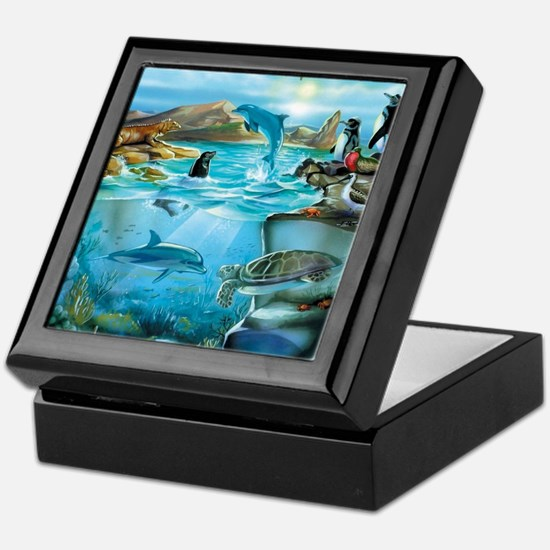 Galapagos Animals Keepsake Box