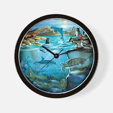 Galapagos Animals Wall Clock
