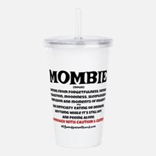 MOMBIE - CAFFEINE Acrylic Double-wall Tumbler