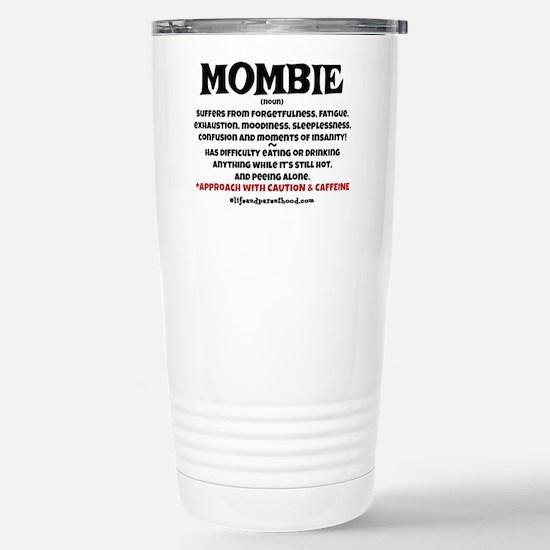 MOMBIE - CAFFEINE Stainless Steel Travel Mug