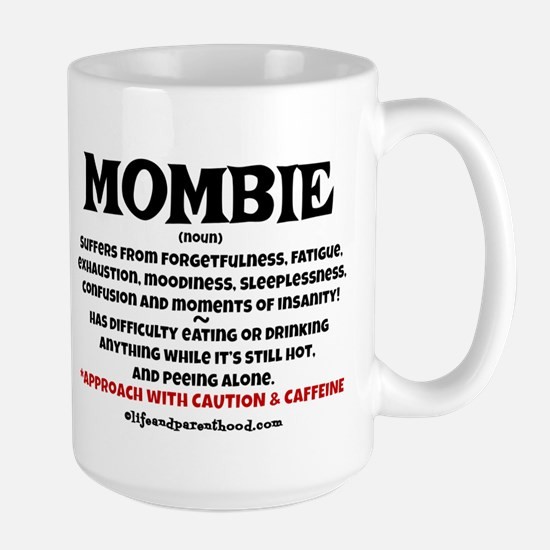 MOMBIE - CAFFEINE Large Mug
